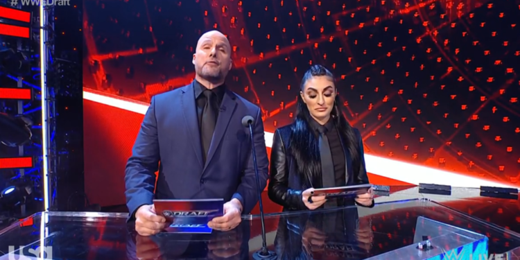 Varias estrellas de la WWE excluidas del Draft de la WWE